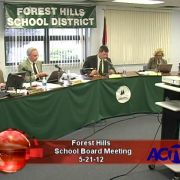 Forest Hills School Board Meeting 5/21/12