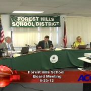 Forest Hills School Board Meeting 6/25/12
