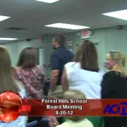 Forest Hills School Board Meeting 8/20/12