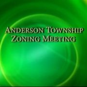 Anderson Township Zoning Meeting 8/27/12