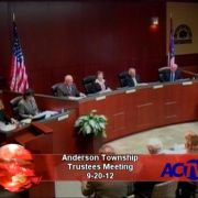 Anderson Trustees Meeting 9-20-12