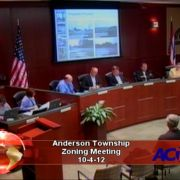 Anderson Township Zoning Appeals 10-4-12