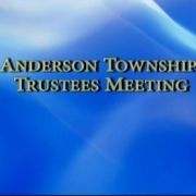 Anderson Township Trustees Meeting 101812
