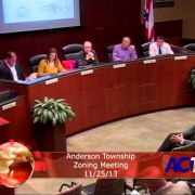 Anderson Township Zoning Meeting 11/25/13
