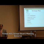 Forest Hills School Board Meeting 8/23/16