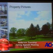 Anderson Township Zoning Appeals Meeting 5/4/17