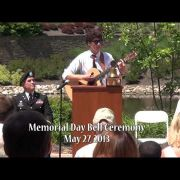 Memorial Day Bell Ceremony 2013