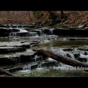 Waterfalls (Nature Sounds for relaxation, study, sleep) 4k