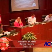 Anderson Township Zoning Meeting for 5/19/14