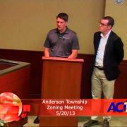 Anderson Township Zoning Meeting 5/20/13