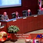 Anderson Township Trustees Meeting 112113