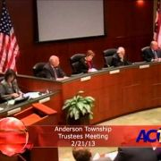 Anderson Township Trustees 2-21-13