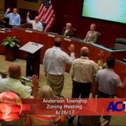Anderson Township Zoning Meeting 6/26/17