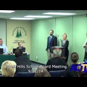 Forest Hills School Board Meeting 9/22/14