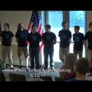 Forest Hills School Board Meeting 5/22/17