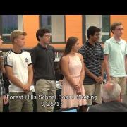 Forest Hills School Board Meeting 9/25/17