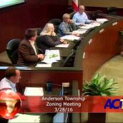 Anderson Township Zoning Meeting 3/28/16