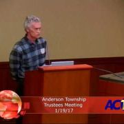 Anderson Township Trustees Meeting 1/19/17