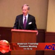 Anderson Township Trustees Meeting 11-15-12