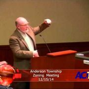 Anderson Township Zoning Meeting 12/15/14