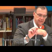 Forest Hills School Board Meeting 12/18/17
