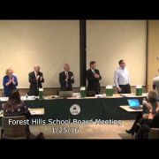 Forest Hills School Board Meeting 1/25/16