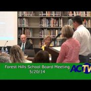Forest Hills School Board Meeting 5/19/14