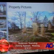 Anderson Township Zoning Appeals Meeting 3/2/17
