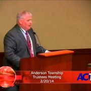 Anderson Township Trustees Meeting 2/20/14