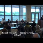 Forest Hills School Board 4/24/17
