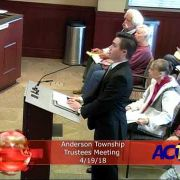 Anderson Township Trustees Meeting 4/19/18