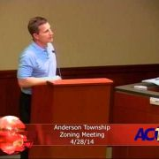 Anderson Township Zoning Meeting for 4/28/14