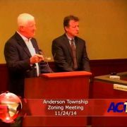 Anderson Township Zoning Meeting 11/24/14
