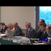 Forest Hills School Board Meeting 4/27/15