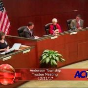 Anderson Township Trustees Meeting 12/21/17