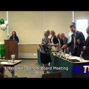 Forest Hills School Board Meeting 5/18/15