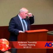Anderson Township Trustees Meeting 9/19/13