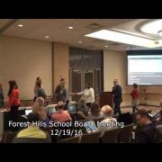 Forest Hills School Board Meeting 12/19/16