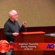 Anderson Township Zoning Meeting 2/24/14