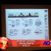 Anderson Township Zoning Meeting 4/22/13