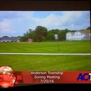 Anderson Township Zoning Meeting 7/25/16