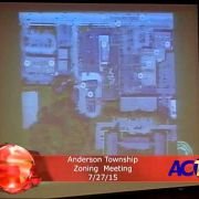 Anderson Township Zoning Meeting 7/27/15