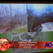 Anderson Township Zoning Meeting 2/27/17