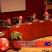 Anderson Township Trustees Meeting 12/18/14