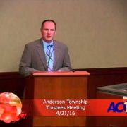 Anderson Township Trustees Meeting 4/21/16