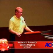 Anderson Township Zoning Meeting 9/28/15