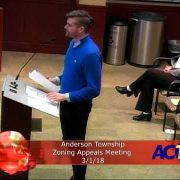 Anderson Township Zoning Appeals 3/1/18
