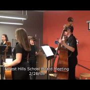Forest Hills School Board Meeting 2/26/18