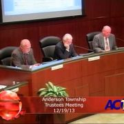 Anderson Township Trustees Meeting 12/19/13