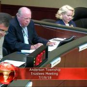 Anderson Township Trustees Meeting 7/19/18